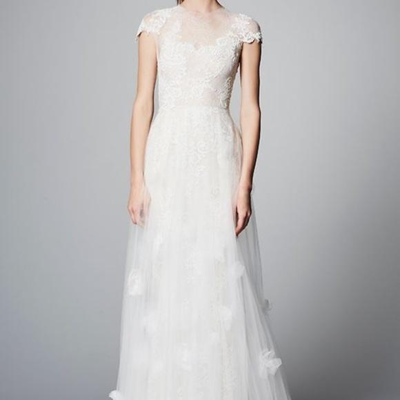 229c122024 Marchesa Dresses | Zoey Sp2018 Wedding Dress | Poshmark